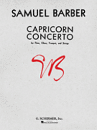 Capricorn Concerto Sheet Music by Samuel Barber