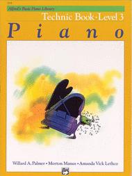Alfred's Basic Piano Course Technic