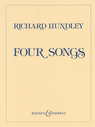 Four Songs Sheet Music by Richard Hundley