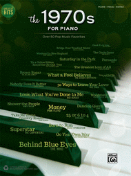 Greatest Hits -- The 1970s for Piano Sheet Music by Various Artists