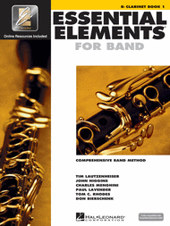Essential Elements for Band - Bb Clarinet Book 1 with EEi Sheet Music by Various