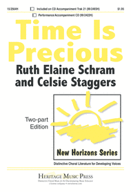 Time Is Precious Sheet Music by Celsie Staggers
