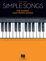 Simple Songs - The Easiest Easy Piano Songs Sheet Music by Various