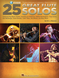25 Great Flute Solos Sheet Music by Eric J. Morones