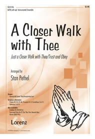 A Closer Walk with Thee Sheet Music by Stan Pethel