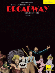 The Definitive Broadway Collection - 2nd Edition Sheet Music by Various