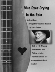 Blue Eyes Crying In The Rain Sheet Music by Elvis Presley