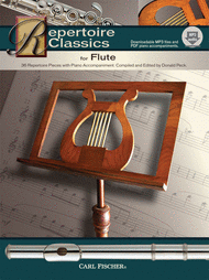 Repertoire Classics for Flute Sheet Music by etc.