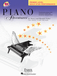 Piano Adventures Primer Level - Gold Star Performance Sheet Music by Nancy Faber