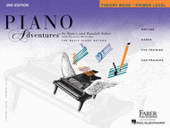 Piano Adventures Primer Level - Theory Book (2nd Edition) Sheet Music by Randall Faber
