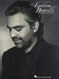 The Andrea Bocelli Song Album Sheet Music by Andrea Bocelli