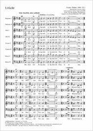 Urlicht Sheet Music by Gustav Mahler