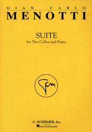 Suite Sheet Music by Gian Carlo Menotti