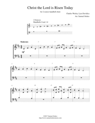 Christ the Lord is Risen Today (Jesus Christ is Risen Today) - for 2-octave handbell choir Sheet Music by Charles Wesley