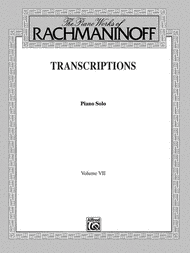 The Piano Works of Rachmaninoff