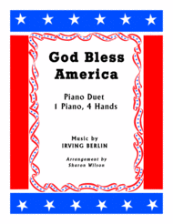 God Bless America (1 Piano