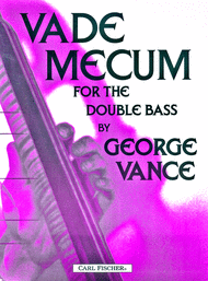 Vade Mecum Sheet Music by George Vance