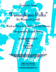 Pennsylvania Polka (for Woodwind Quartet) Sheet Music by Lester Lee/Zeke Manners