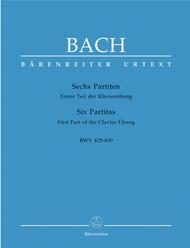 6 Partitas Sheet Music by Johann Sebastian Bach