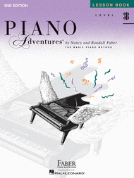 Piano Adventures Level 3B - Lesson Book Sheet Music by Randall Faber