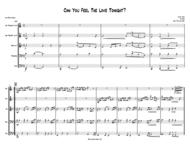 Can You Feel The Love Tonight - BRASS QUINTET Sheet Music by Elton John