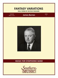 Fantasy Variations on a Theme of Paganini Sheet Music by Nicolo Paganini