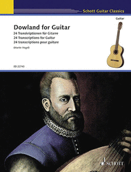 Dowland for Guitar Sheet Music by John Dowland