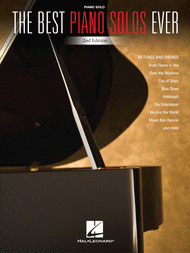 The Best Piano Solos Ever - 2nd Edition Sheet Music by Various