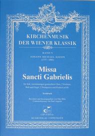 Missa Sancti Gabrielis Sheet Music by Michael Haydn