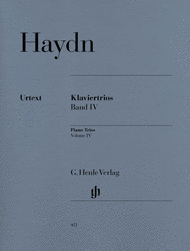 Piano Trios - Volume IV Sheet Music by Franz Joseph Haydn