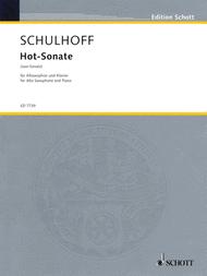 Hot-Sonata Sheet Music by Erwin Schulhoff