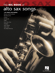 Big Book of Alto Sax Songs Sheet Music by Various