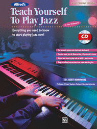 Alfred's Teach Yourself To Play Jazz at the Keyboard - Book/CD Sheet Music by Bert Konowitz