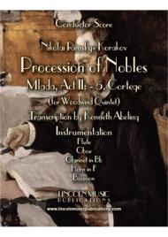 "Rimsky-Korsakov – ""Procession of Nobles"" from Mlada (for Woodwind Quintet) Sheet Music by N. Rimsky-Korsakov?"