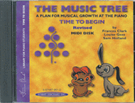 The Music Tree - Time To Begin/Primer (MIDI Disk) Sheet Music by Frances Clark