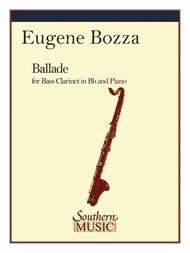 Ballade Sheet Music by Eugene Bozza