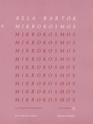 Mikrokosmos - Volume 6 (Pink) Sheet Music by Bela Bartok