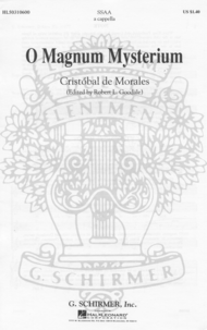 O Magnum Mysterium (O Great Mystery) Sheet Music by C Morales