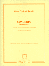Concerto in B Minor Sheet Music by George Frideric Handel