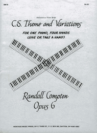 C. S. Theme and Variations Sheet Music by Randall Compton