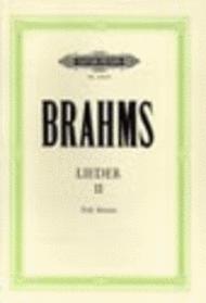 Songs Vol. 2 Sheet Music by Johannes Brahms