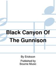 Black Canyon Of The Gunnison Sheet Music by Erickson