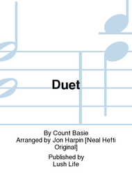 Duet Sheet Music by Count Basie