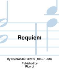 Requiem Sheet Music by Ildebrando Pizzetti
