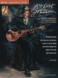 Robert Johnson - Signature Licks Sheet Music by Robert Johnson