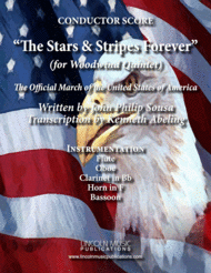 March - The Stars and Stripes Forever (for Woodwind Quintet) Sheet Music by John Philip Sousa