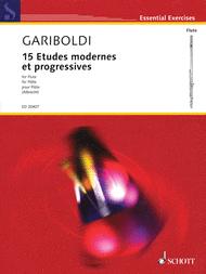 15 Etudes modernes et progressives Sheet Music by Giuseppe Gariboldi