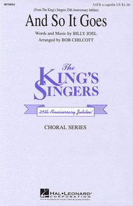And So It Goes Sheet Music by The King's Singers