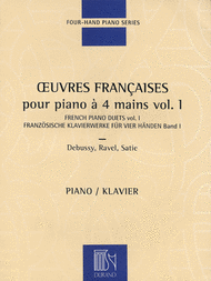 French Piano Duets - Volume 1 Sheet Music by Various