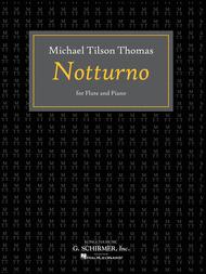 Notturno Sheet Music by Michael Tilson Thomas